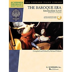 G. Schirmer The Baroque Era - Intermediate Level - Schirmer Performance Editions Book Online Audio Access (297068)