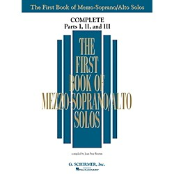 G. Schirmer The First Book Of Mezzo-Soprano/Alto Solos Complete Parts 1, 2 and 3 (50498742)