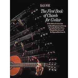 G. Schirmer The First Book of Chords for the Guitar Book (50334330)
