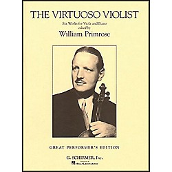 G. Schirmer The Virtuoso Violist For Viola And Piano (50482094)