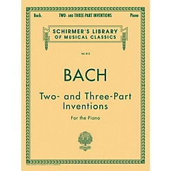 G. Schirmer Two And Three Part Inventions For The Piano By Bach (50256470)