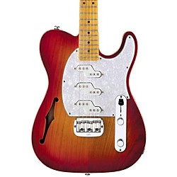 G&L ASAT Z-3 Semi-Hollow Electric Guitar (GC-ASTZ3T-CHERYB-MP)