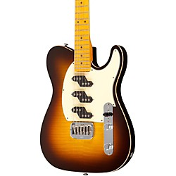 G&L ASAT Z3 Figured Maple Top Guitar (AZ-40-M-C-WB-BE-TGN-)