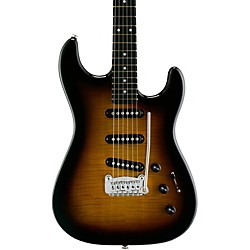 G&L S-500 Deluxe Electric Guitar (GC-S500D-TOBS/B-EB)