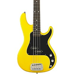 G&L SB-1 Electric Bass Guitar (GC-SB1-YLWFVR-RW)