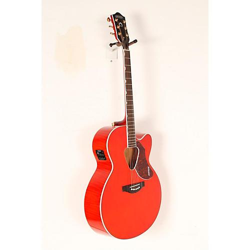 Gretsch Guitars G5022CE Rancher Jumbo Cutaway Acoustic-Electric Guitar Western Orange Stain Rosewood Fretboard-thumbnail