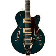 Gretsch Guitars G6659TG Players Edition Broadkaster Jr. Center Block Single-Cut with String-Thru Bigsby and Gold Hardware