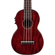 Gretsch Guitars G9110-L Concert Long-Neck Acoustic-Electric Ukulele with Gig Bag