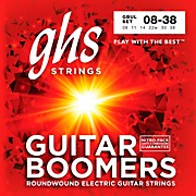 GHS GBUL Boomers Ultra Light Electric Guitar Strings