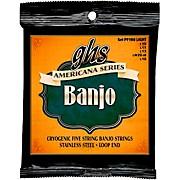 GHS GHS Americana Series Banjo Light Strings (10-LW22JD-10)