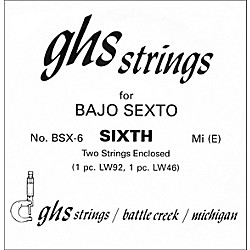 GHS BSX6 Bajo Sexto Single Guitar String (BSX6)