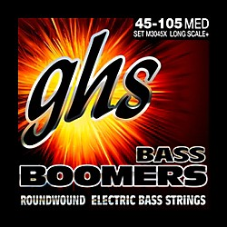 GHS Boomers Long Scale Plus Bass Guitar Strings (M3045X)
