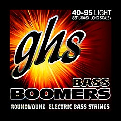GHS Boomers Long Scale Plus Lite Bass Guitar Strings (L3045X)