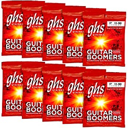 GHS Boomers Medium Electric Guitar Strings 10-Pack (GBM-10)
