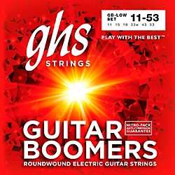 GHS GB-LOW Boomers Low Tune Electric Guitar Strings (GB-LOW)