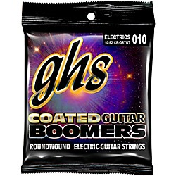GHS GBTNT Coated Boomers Thin N Thick Electric Guitar Strings (CB-GBTNT)
