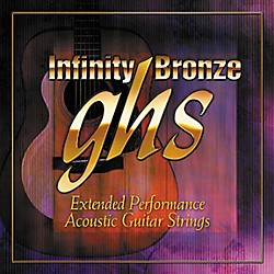 GHS Infinity Bronze Acoustic Extra Light Guitar Strings (IB20X)