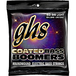 GHS L3045 Coated Boomers Light Bass Strings (CB-L3045)