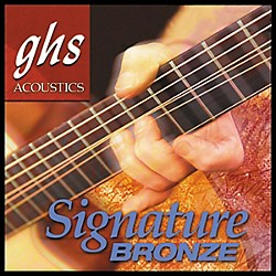 GHS Laurence Juber Signature Bronze Extra Light Strings (LJ20X)