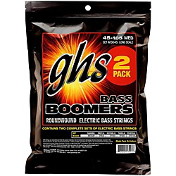 GHS Medium Bass Boomers Strings 2-Pack (M3045-2 SET)