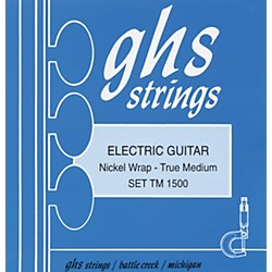 GHS Nickel Rockers True Medium - Wound Third String (TM 1500)