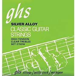 GHS Nylon and Silver Classical Guitar Strings - Tie End (2150W)