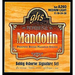 GHS Phosphor Bronze Mandolin Strings Medium Light (A260)