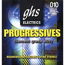 GHS Progressives Electric Guitar Strings Light (PRL)