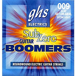 GHS Sub-Zero Guitar Boomers Electric Guitar Strings - Extra Light (CR-GBXL)
