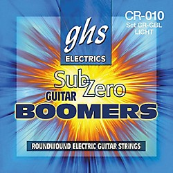 GHS Sub Zero Guitar Boomers Light (CR-GBL)