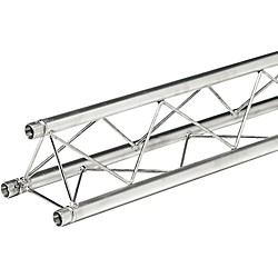 GLOBAL TRUSS 6.56 Foot (2 Meter) Mini Triangular Truss Straight Segment (TR96104)