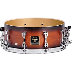 GMS Revolution Maple/Brass Snare Drum (RVSDEBBR0713)