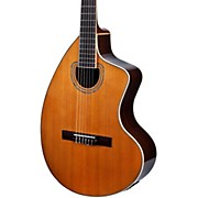 Giannini GNCRA SPC CEQ Craviola Nylon String Acoustic-Electric Guitar