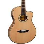 Giannini GNF-8R CEQ Cutaway Nylon String Acoustic-Electric Guitar