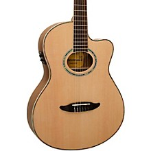 Giannini GNF-8R CEQ Cutaway Nylon String Acoustic-Electric Guitar