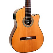 Giannini GNFLE CEQ N Cutaway Nylon String Acoustic-Electric Guitar