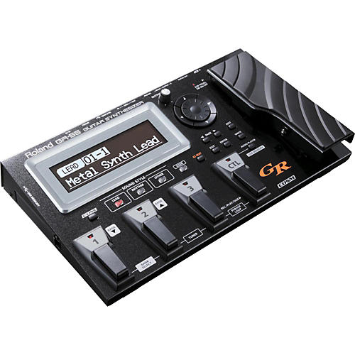 Roland GR-55 Guitar Synthesizer Black With GK-3 Divided Pickup