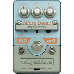 GUYATONE Mighty Micro MDm5 Digital Delay Guitar Effects Pedal (MDm5)