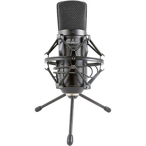 CAD GXL2600USB Large Diaphragm USB Studio Condenser Microphone-thumbnail