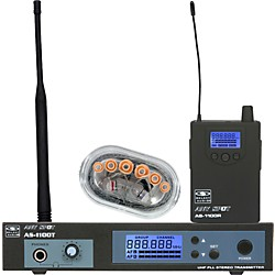 Galaxy Audio AS-1106 UHF Wireless Personal Monitor System (AS-1106)