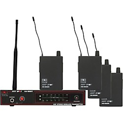 Galaxy Audio AS-900-4 Band Pack Wireless System (AS-900-4K2)