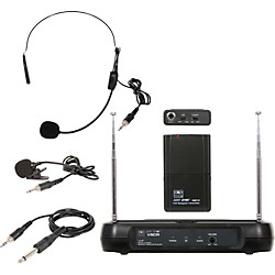 Galaxy Audio Triple Play Diversity VHF Wireless Belt Pack System (VSCR/318V59)
