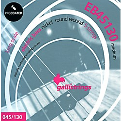 Galli Strings EB45130 PROCOATED 5-String Medium Bass Strings 45-130 (EB45130)