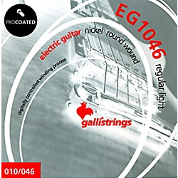 Galli Strings EG1046 PROCOATED Regular Light Electric Guitar Strings 10-46 (EG1046)