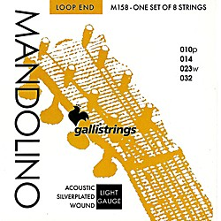 Galli Strings M158 Silverplated MANDOLINO Strings (M158)