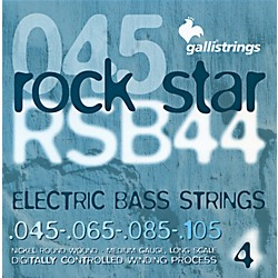Galli Strings RSB44 ROCKSTAR Medium Bass Strings 45-105 (RSB44)