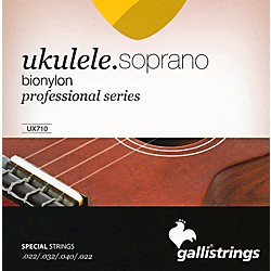 Galli Strings UX710 BIONYLON Soprano UKULELE Strings (UX710)