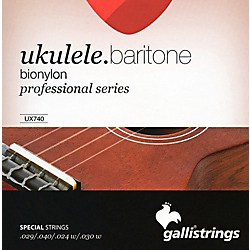 Galli Strings UX740 BIONYLON Baritone UKULELE Strings (UX740)