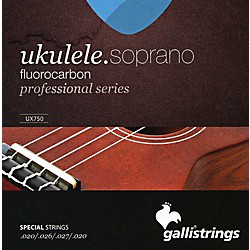 Galli Strings UX750 FLUOROCARBON Soprano UKULELE Strings (UX750)
