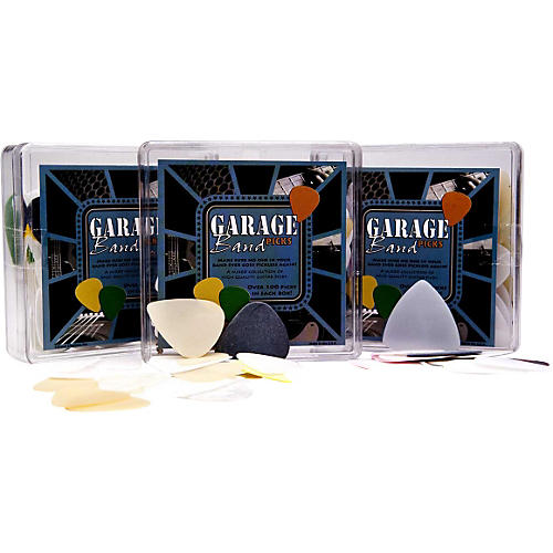 Clayton Garage Band Pick Box - 100 Pack
